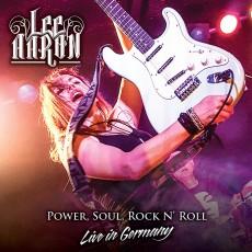 CD/DVD / Aaron Lee / Power Soul Rock 'N' Roll / CD+DVD / Digipack