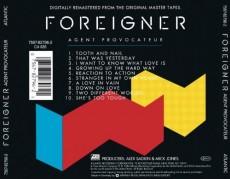 CD / Foreigner / Agent Provocateur