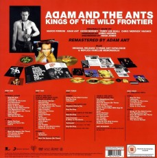 LP/CD / Ant Adam & The Ants / Kings Of The Wild Frontier / DeLuxe / Box