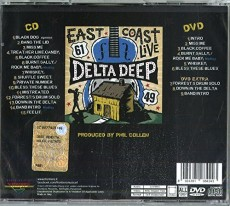 CD/DVD / Delta Deep / East Coast Live / CD+DVD