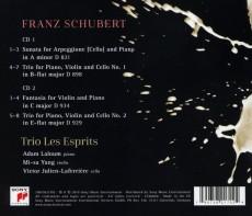 2CD / Trio Les Esprits / Schubert / 2CD