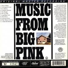 CD/SACD / Band / Music From Big Pink / Hybrid SACD / MFSL