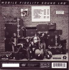 CD/SACD / Allman Brothers Band / At Fillmore East / Hybrid SACD / MFSL