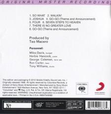 CD/SACD / Davis Miles / Four & More / Hybrid SACD / MFSL