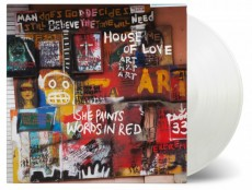 LP / House of Love / She Paints Words In Red / Coloured / Vinyl