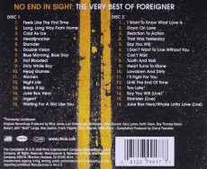 2CD / Foreigner / No End In Sight / Very Best Of / 2CD