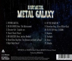 CD / Babymetal / Metal Galaxy
