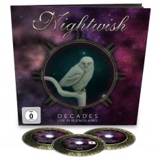 2CD-BRD / Nightwish / Decades:Live In Buenos Aires / Earbook / 2CD+Blu-Ray