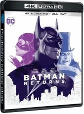 UHD4kBD / Blu-ray film /  Batman se vrací / UHD+Blu-Ray