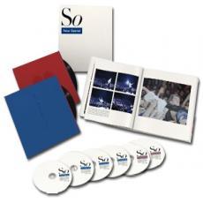 4CD / Gabriel Peter / So / 25th Anniversary / Limited / 4CD+2DVD / Vinyl / Box