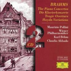 2CD / Brahms / Piano Concertos Nos.1&2 / Pollini / 2CD