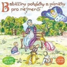 2CD / Babiččiny pohádky a písničky pro nejmenší/2CD /