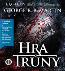 4CD / Martin George R.R. / Hra o trůny 1 / František Dočkal / MP3 / 4CD