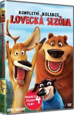 4DVD / FILM / Lovecká sezóna 1-4 / Kolekce / 4DVD