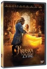 DVD / FILM / Kráska a zvíře / Beauty And The Beast / 2017