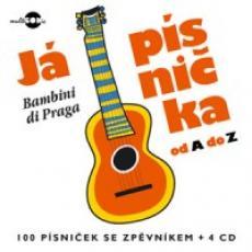 4CD / Bambini di Praga / Já písnička od A do Z / 4CD+zpěvník