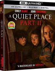 UHD4kBD / Blu-ray film /  Tiché místo:Část 2 / UHD+Blu-Ray