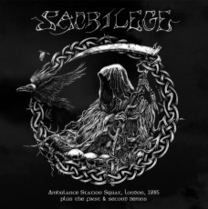 LP / Sacrilege / Ambulance Station Squat London 1985 / Vinyl / Coloured