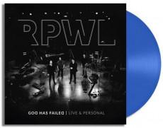 2LP / RPWL / God Has Failed - Live & Personal / Vinyl / 2LP / Blue