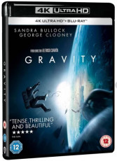 UHD4kBD / Blu-ray film /  Gravitace / Gravity / UHD+Blu-Ray