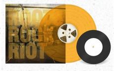 """2LP / Skindred / Roots Rock Riot / Vinyl / LP+7"""" / Colured / Orange"""