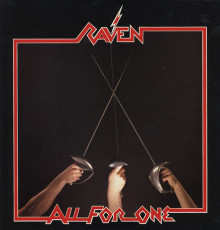 2LP / Raven / All For One / Vinyl / LP+CD / Coloured / Purple