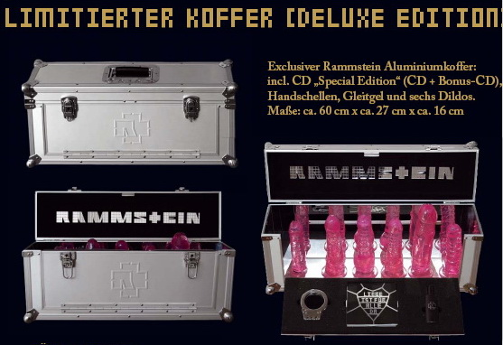 Rammstein 2 Cd Liebe Ist Fur Alle Da Limited Edition Box Set