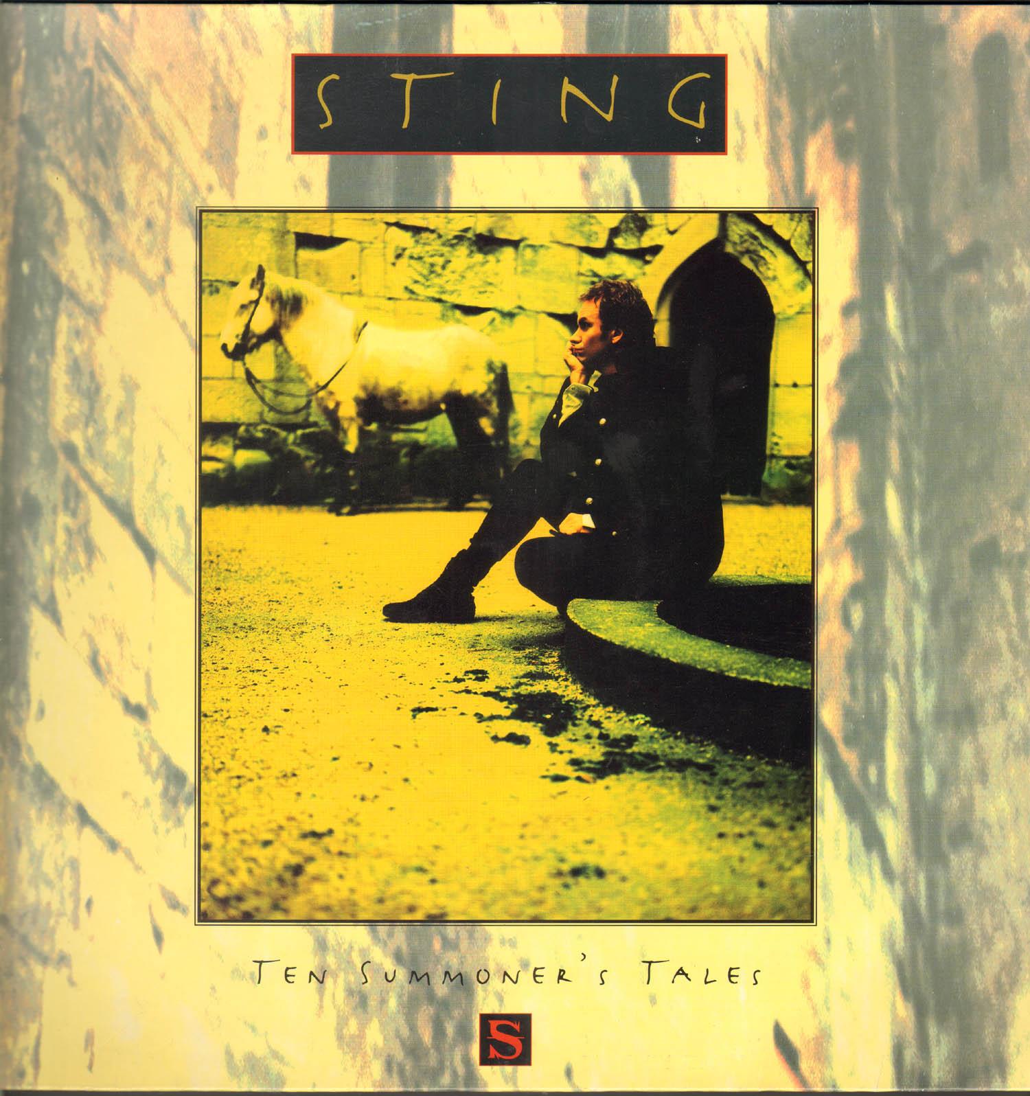 Sting Lp Ten Summoner S Tales Vinyl Musicrecords