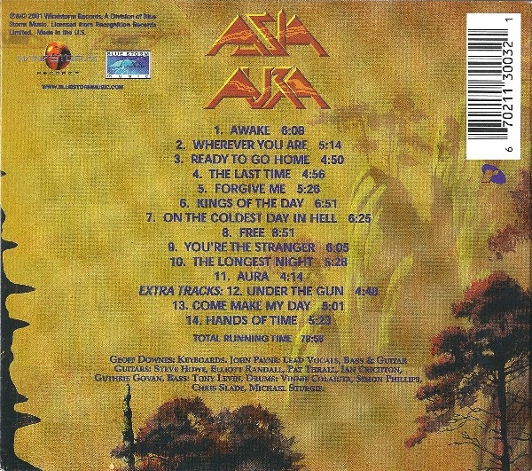 CD Aura / Digipack