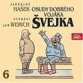 2CDHašek Jaroslav / Osudy dobrého vojáka Švejka 6. / Werich / 2CD