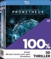 3D Blu-RayBlu-ray film /  Jumper / Abraham Lincoln / Prometheus / Kolekce / 3Blu-Ray