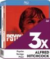 3Blu-RayBlu-ray film /  Alfred Hitchcock:Kolekce / Psycho / Vertigo / Ptáci
