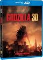 3D Blu-RayBlu-ray film /  Godzilla / 2014 / 3D+2D Blu-Ray