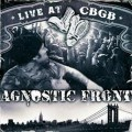 DVDAgnostic Front / Live At CBGB / DVD+CD