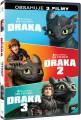 3DVD / FILM / Jak vycvičit draka 1.-3. / 3DVD