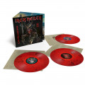 3LP / Iron Maiden / Senjutsu / Red & Black Marble / Vinyl / 3LP