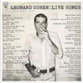 LPCohen Leonard / Live Songs / Vinyl