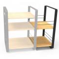 HIFIGRAMO / Hi-Fi stolek / Norstone:Loft / Boční díl / Bamboo