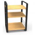 HIFIGRAMO / Hi-Fi stolek / Norstone:Loft / Centrální díl / Bamboo