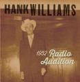 "LP / Williams Hank / 1952 Radio Auditions / Vinyl / 7"" / RSD"
