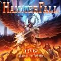 3LP / Hammerfall / Live! Against The World / Vinyl / 3LP / Coloured / Orange