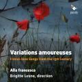 CDAlla Francesca / Variations Amoureuses
