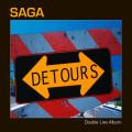 2CD / Saga / Detours / Live / Digipack / 2CD