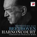 CDBeethoven / Symphonies 4 & 5 / Harnoncourt