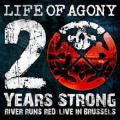 CD/DVDLife Of Agony / 20 Years Strong River Runs Red / Live / CD+DVD