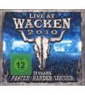 Blu-RayVarious / Live At Wacken 2010 / Blu-Ray Disc / 3D / BRD+2CD