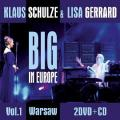 2DVD/CDSchulze Klaus & Gerrard Lisa / Big In Europe Vol.1 / 2DVD+CD