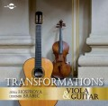 CDHosprová Jitka/Brabec L. / Transformations / Viola And Guitar