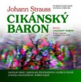 2CDStrauss Johann / Cikánský baron / 2CD
