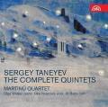 2CDTaneyev Sergey / Complete Quintets / Martinů Quartet / Hosprová